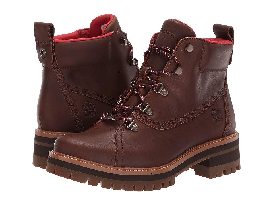 Timberland Courmayeur Valley 6 Waterproof Hiker Boot (Dark Rubber) Women