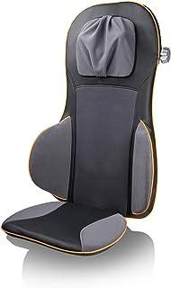 Medisana 88939 MC 825 - Cojín de asiento de masaje con acupresión, masaje de cuello, función calor, 3 intensidades, función luz roja, con mando a distancia para espalda y cuello
