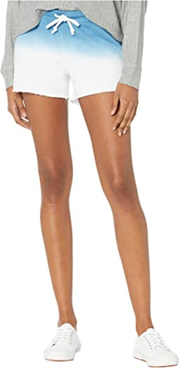 Linen French Terry Cutoffs Lounge Shorts