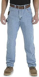 Riggs Workwear By Wrangler Men's Big & Tall Carpenter Jean,Vintage Indigo,44W x 34L