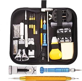 GUSODOR Montres Kit Professional Multi-Tool Trousse D'outils de Montre Tool Kits et Outils de Réparation à Outils Parfait ...