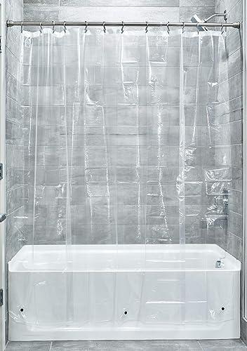 InterDesign Liner Shower Curtain, 183 Cm X 183 Cm, Clear