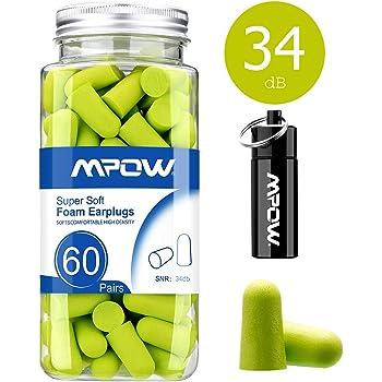 Moldex Spark Plugs 7800 Tapones para los o/ídos caja de almacenamiento 3M protecci/ón auditiva 50 pares SNR = 36 dB
