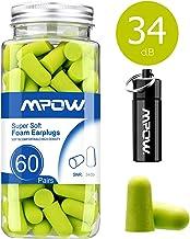 100 unidades para dormir 50 pares que incluyen un estuche de bolsillo para 2 unidades Tapones antiruido ideales contra ronquidos Tapones O/ídos