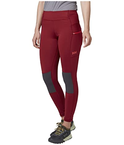 Helly Hansen Rask Tights (Oxblood) Women