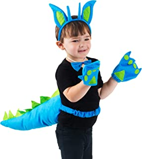 Tigerdoe Dragon Tails - Dinosaur Costume - Dino Theme Party - Dress Up - Animal Tails