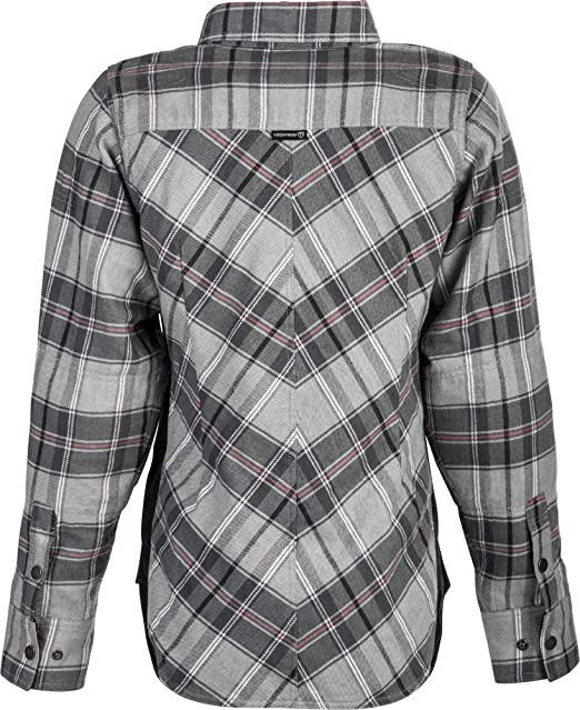 Red//Black//X-Large Highway 21 Rogue Flannel Womens Street Motorcycle Jacket