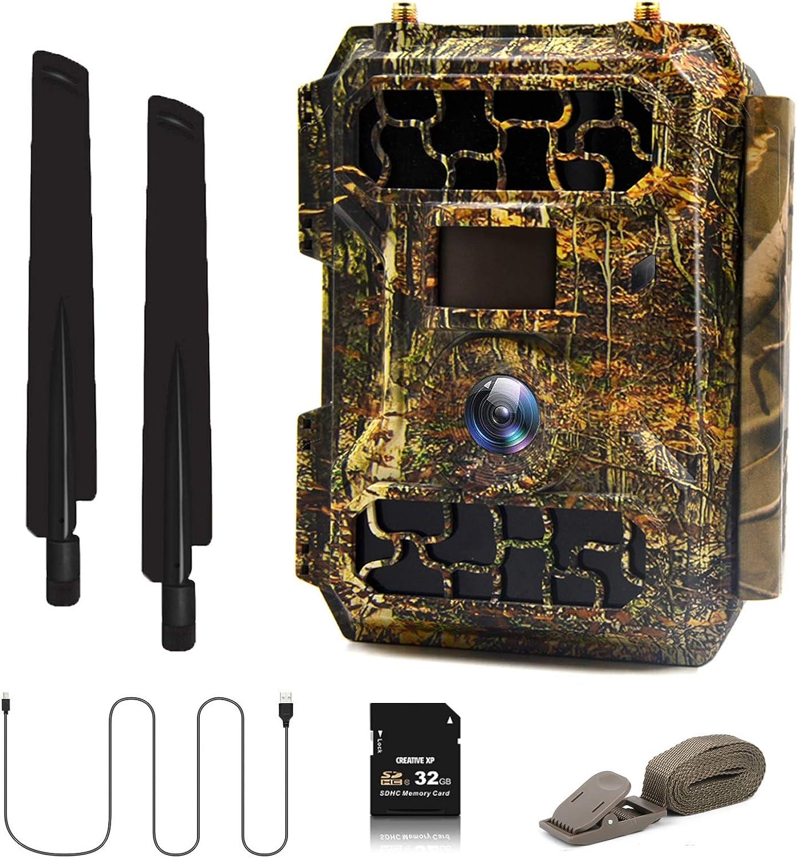 Eyeleaf 16MP 4G Cellular Max 83% OFF Trail Cameras Scouting- Digital Hunting Super Special SALE held