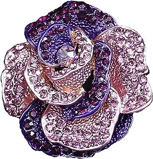 seven wolves Brooch Pin Women's Rhinestones Breastpin for Wedding/Banquet/Bouquet