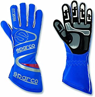 Sparco 00253212AZ Arrow K Blue Size-12 Karting Gloves