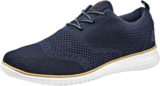 Akademiks Men's Wingtip Oxford Lightweight Breathable Walking Shoes