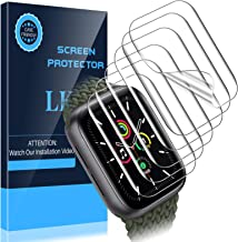 LK [6 Pack] Screen Protector for Apple Watch SE 40mm [Max Coverage][Case Friendly] HD Clear Flexible TPU Film
