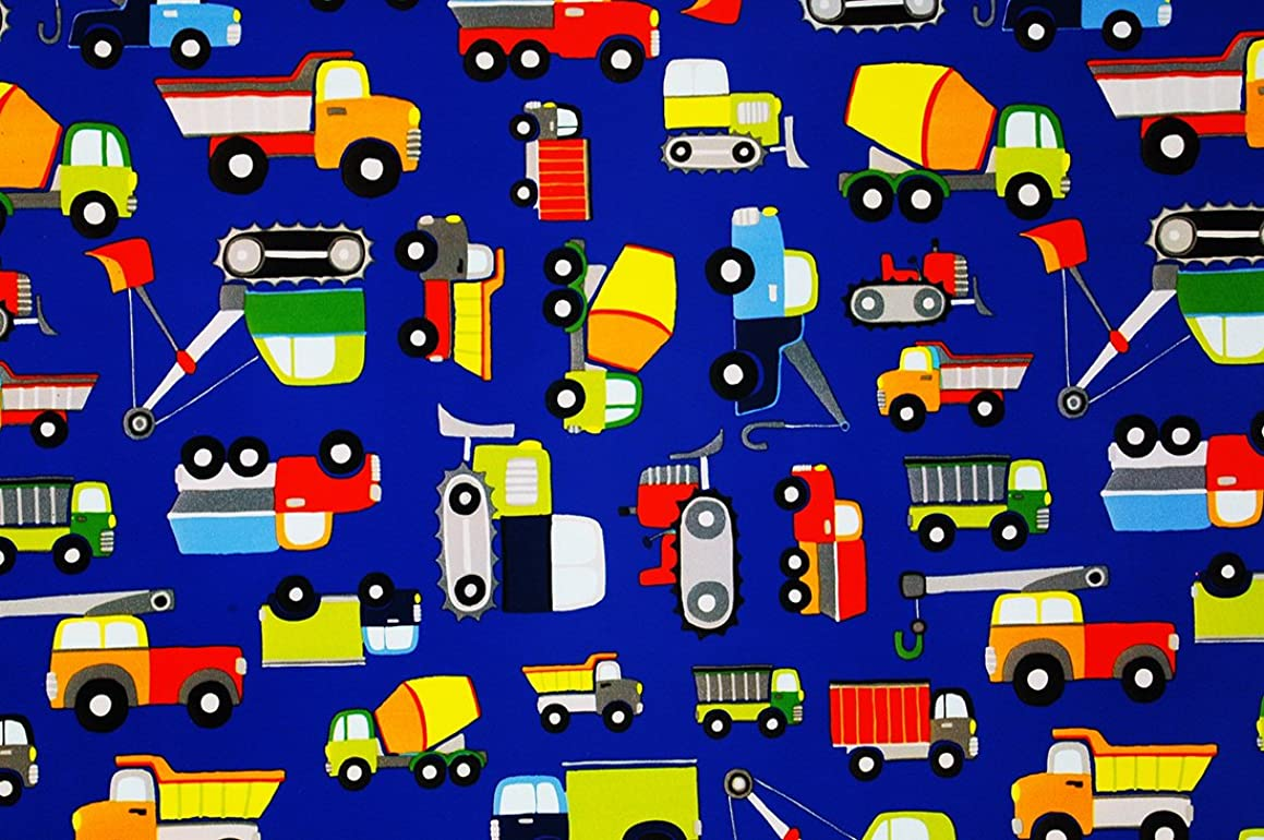 Construction Zone Premium Gift Wrapping Paper Flat Sheet - 24