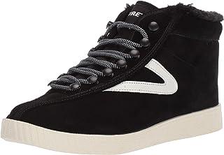 Tretorn Women's NYLITEHI50 Sneaker, Black, 9.5