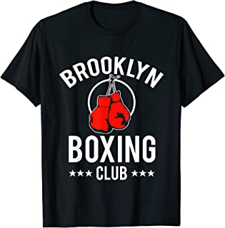 Funny Boxing Lover Tees - Brooklyn Boxing Club T-Shirt