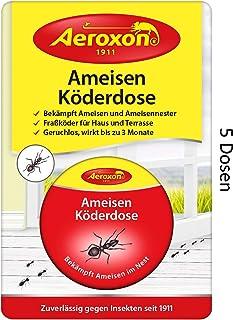 AEROXON Cebo trampa para hormigas 5 paquetes
