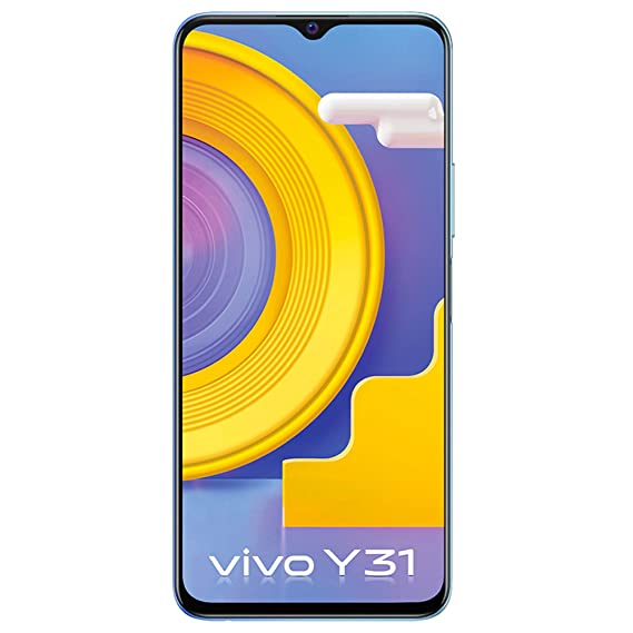 Vivo Y31 (Ocean Blue, 6GB, 128GB Storage) with No Cost EMI/Additional Exchange Offers
