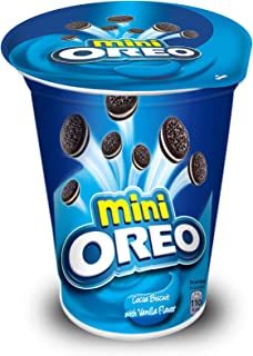 Mini Oreo Vanilla Flavoured Cream Cookies - 67 gms