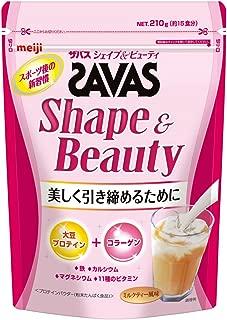 Savas Shape & Beauty Milk Tea Flavor [15] Servings 210g