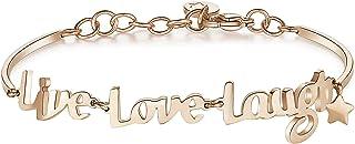 5c7d0fcfa5d987 Brosway Bracciale Donna Chakra BHK293 LIVE LOVE LAUGH: VITA, AMORE, SORRISI