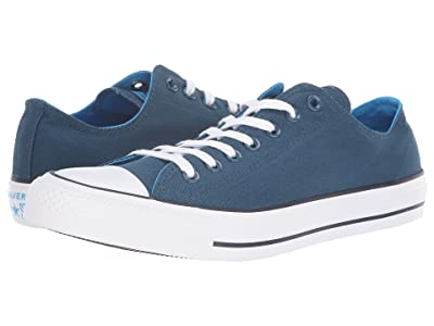 Converse Chuck Taylor All Star Seasonal Ox (Blue Fir/Blue Hero/Inked) Athletic Shoes