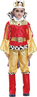 (コ-ランド) Co-land ハロウィン 衣装 男の子 キッズ 子供服 王様風 国王 王子様 コスプレ 仮装 コスチューム パーティー 舞台 演出 仮面 変装 M