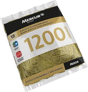 Elástico para Alimentos N.18, Mercur B0501041807, Amarelo
