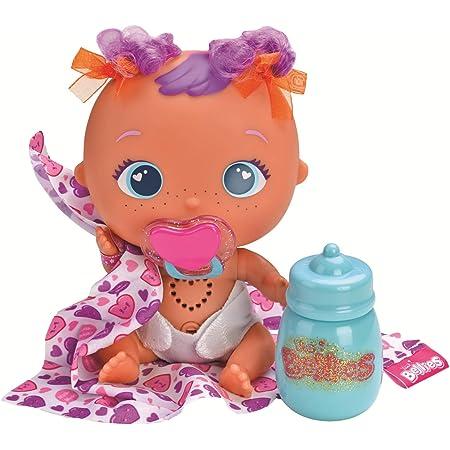 The Bellies Muak -Muak, Muñeco interactivo para niños y niñas de +2 años (Famosa 700014564)