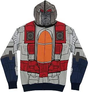 Transformers Starscream Men's Costume Zipper Hoodie XX-Large