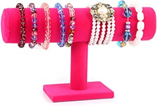 Single T-Bar Dispay Hanger for Jewlery ~ Bracelet Watches Bangles Scrunchies Head Band Jewelry Display Stand ~ Jewelry Org...