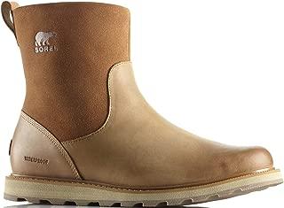 SOREL Mens Madson Zip Waterproof Elk Natural Boot - 9