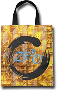 DCM500 Canvas Shopping Bags Jet Printed Zero Day Hanged Out Handbags Tote For Women & Men.One Size ColorKey