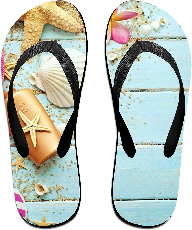 Soldering Women's Men's Flip Flop Slippers Seashells Sales for sale Bea Starfish Summer