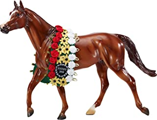 Breyer Traditional Series Justify with Garland Horse Toy Model - 2018 Triple Crown Winner | Horse Toy Model | 13