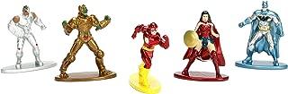 JADA Nano Metalfigs DC Comics 5 Pack: Pack 1  (Batman Rebirth, Cyborg, Wonder Woman, The Flash, Parademon)