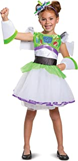 Buzz Tutu Deluxe Toy Story 4 Child Girls Costume, S (4-6x)