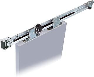 NSC-C60V-22 Sliding Door Closer for barn Door (Medium-Heavy Duty Model up to 132lbs Doors), Self Closing, Complete System with 86