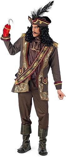 Captain Hook Kostüm Pirat Deluxe Herren