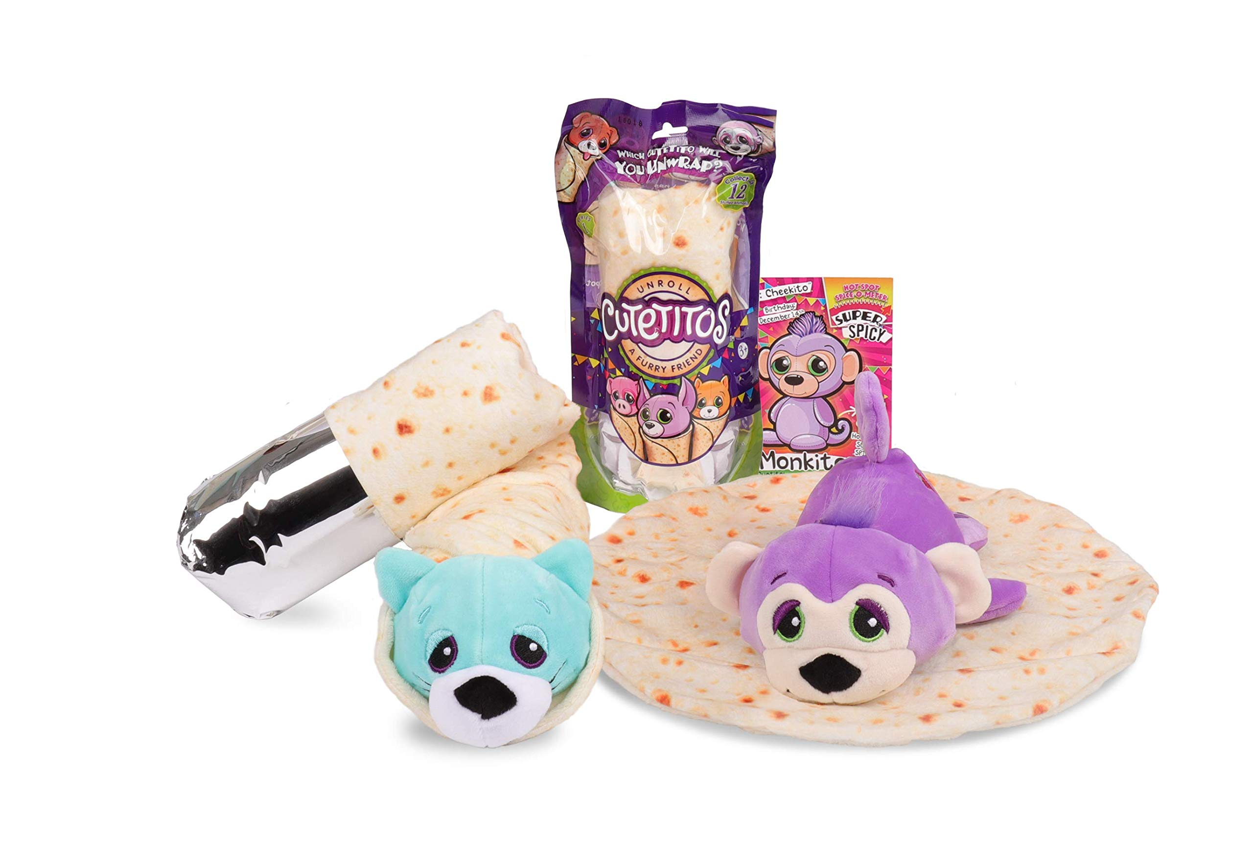 Cutetitos/Collectible Plush Felpa Basic Fun! 39141 Multicolor