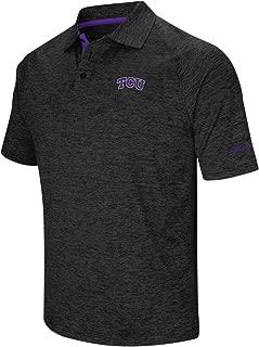 Stadium Athletics TCU Horned Frogs NCAA Down Swing Men's Performance Polo Shirt