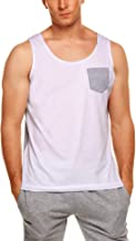 COOFANDY Men's Tank Top Casual Sleeveless Shirt with Pocket for Gym Sport and Training