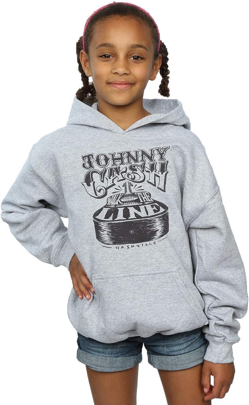 ABSOLUTECULT Johnny Cash Girls Nashville Guitar Hoodie