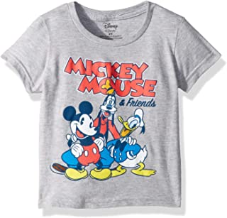 Boys' Toddler Mickey Mouse & Friends Short Sleeve Tshirt