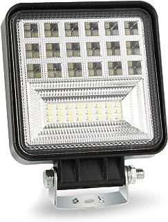 مصابيح سيارة RONSHIN ، 400W 6000K 4inch LED كشاف كشاف كشاف كشاف كشاف كشاف إضاءة للطرق الوعرة 4WD SUV مصباح قيادة الضباب