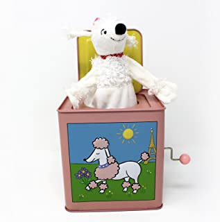 Fifi The Poodle Tin Jack in The Box