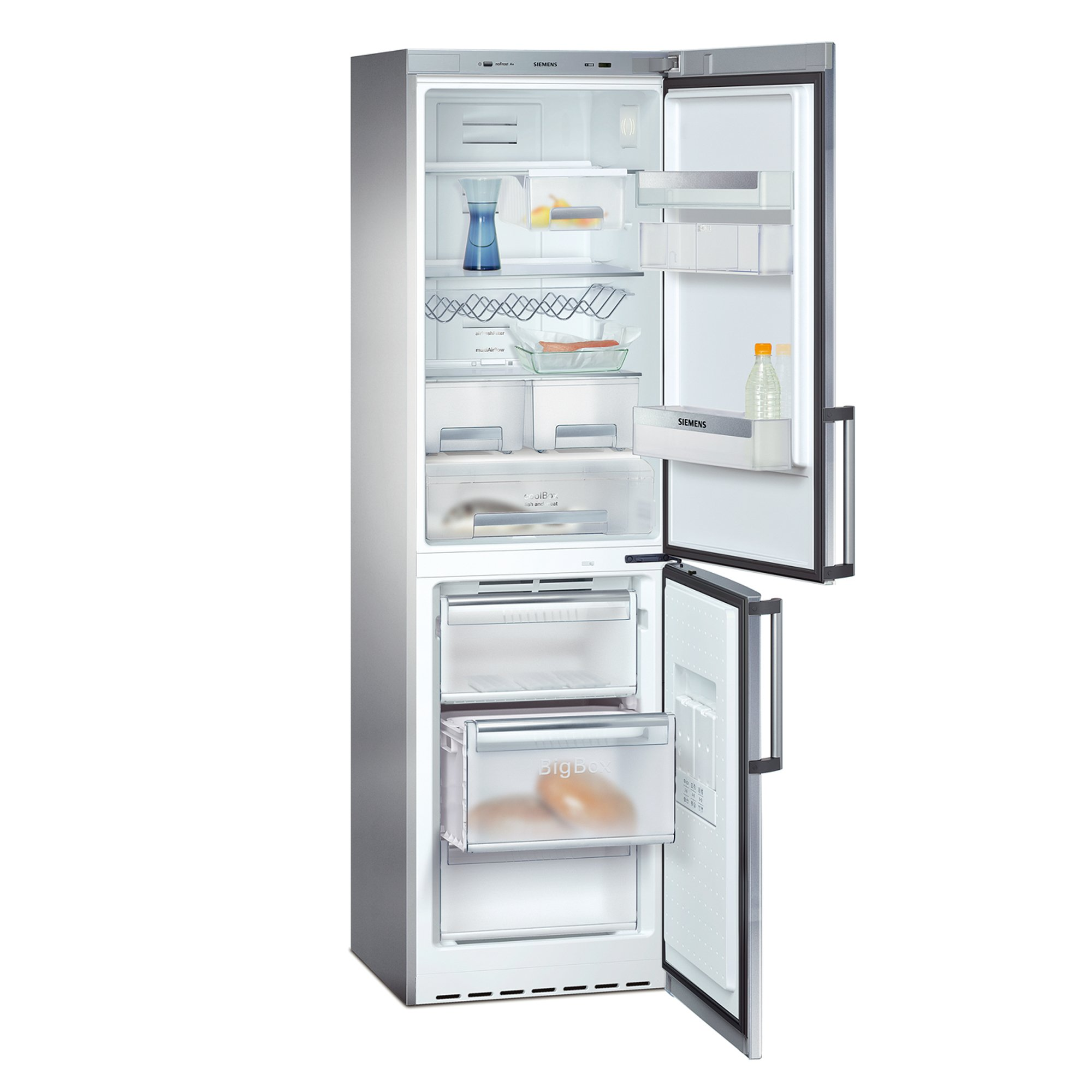 Siemens KG39NA74 Refrigerator nevera y congelador Independiente ...