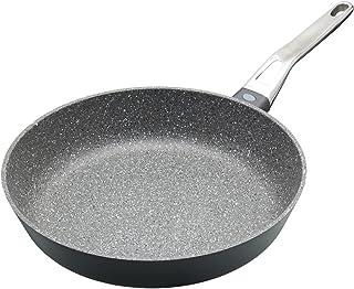 KitchenCraft Master Class - Sartén de aluminio fundido antiadherente (inducción, 20 cm), color gris, aluminio, Gris, 28 cm