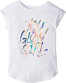 Nike Kids - You Glow Girl Modern Short Sleeve Tee (Toddler)