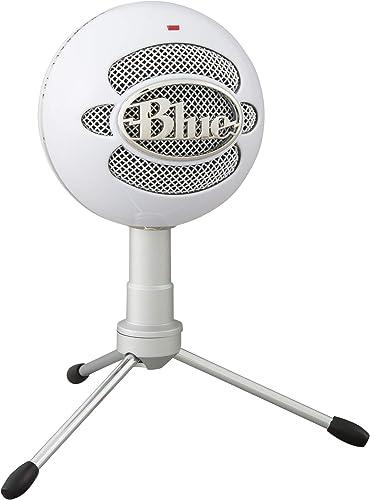 Microfone Condensador USB Blue Snowball iCE com Captação Cardióide, Ajustável, Plug and Play para Gravação e Streamin...
