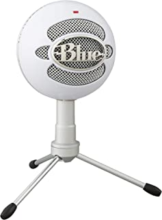 Blue Snowball iCE USB Mic for Recording and Streaming on PC and Mac, Cardioid Condenser..